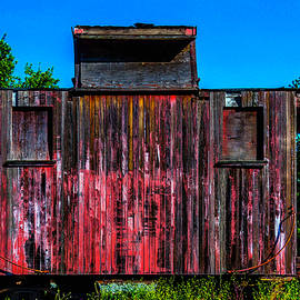 Decaying Caboose - Garry Gay