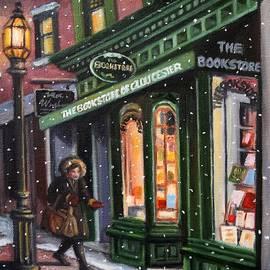 Eileen Patten Oliver - December Snow, Gloucester, MA