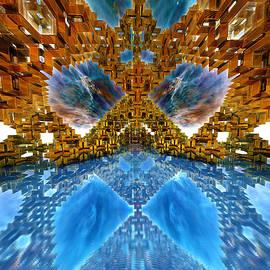 Deco Metro Mirror by Grant Osborne