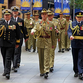 Miroslava Jurcik - Decorated Officers In The Anzac March