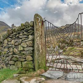 Adrian Evans - Decorative Gate Snowdonia