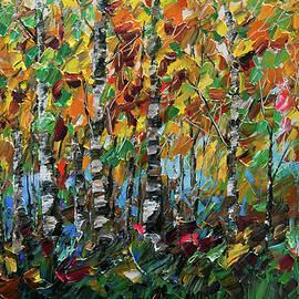Lena  Owens OLena Art - Deep in the Woods