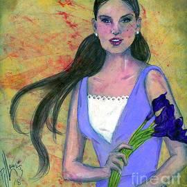 PJ Lewis - Deep Purple Lilies