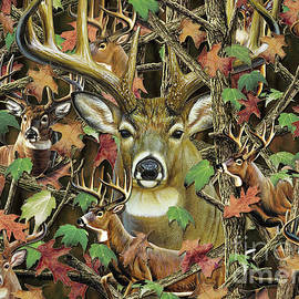 Deer Camo by JQ Licensing  Cynthie Fisher