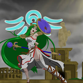 Defiant Light Goddess by Weaver Neith