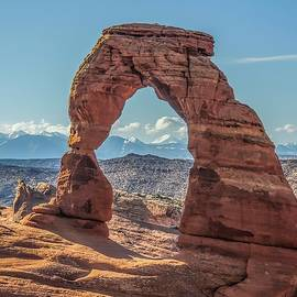 NaturesPix - Delicate Arch in Early Morning