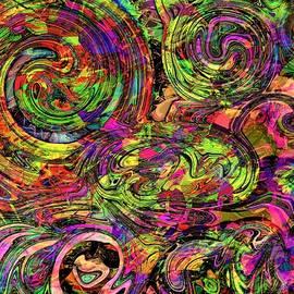 Deliriously Happy Rainbow by Debra Lynch