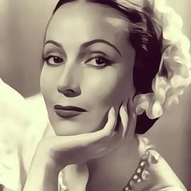 Delores del Rio, Vintage Actress - John Springfield
