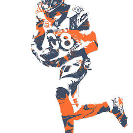 Demaryius Thomas DENVER BRONCOS PIXEL ART 11 - Joe Hamilton