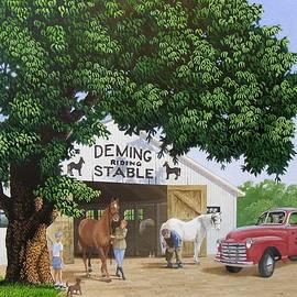 Deming Stables by C Robert Follett