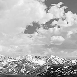 Sierra Vance - Denali National Park Black and White
