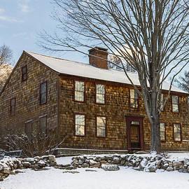 Kirkodd Photography Of New England - Denison Homestead Winter