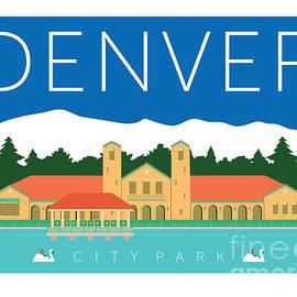 Denver City Park by Sam Brennan
