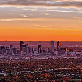 Dave Fish - Denver Skyline Sunrise