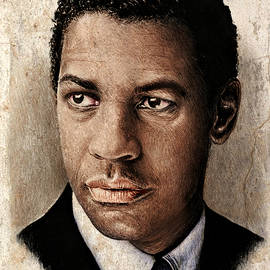 Andrew Read - Denzel Washington color ver