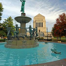 Steve  Gass - Depew Memorial Fountain Indianapolis