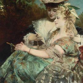 Der Liebesbrief, 1875 - Hans Makart