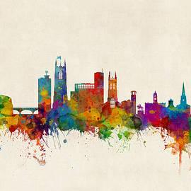 Derby England Skyline - Michael Tompsett