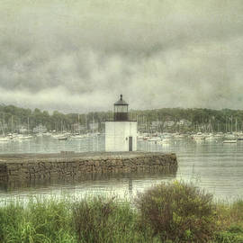 Derby Wharf Light - Salem, Ma. by Joann Vitali