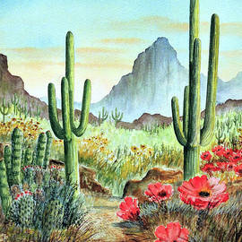 Bill Holkham - Desert Cacti - After The Rains