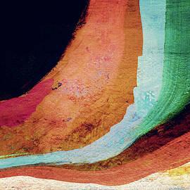 Linda Woods - Desert Night-Abstract Art by Linda Woods