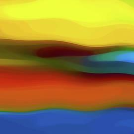 Amy Vangsgard - Desert River Landscape