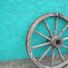 Desert Wheel by Elisabeth Lucas