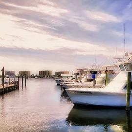 Destin Harbor Daydreams by Mel Steinhauer