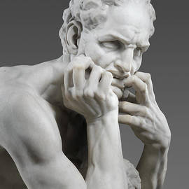 Detail of Ugolino and His Sons - Jean-Baptiste Carpeaux