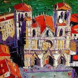 Detail Shot Of #lyon Cathedral