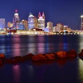 Frozen in Time Fine Art Photography - Detroit Lights 2