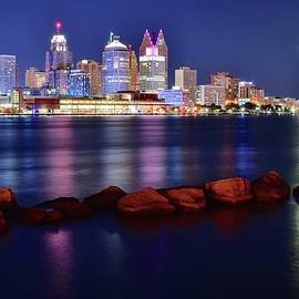 Frozen in Time Fine Art Photography - Detroit Michigan Night  2016
