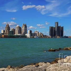 Detroit on the River by Rachel Cohen