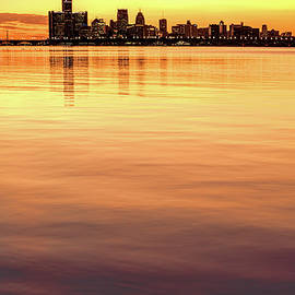 Detroit River Of Gold by Wes Iversen