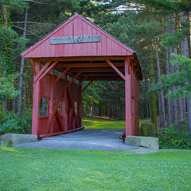 Devils Den Or Mcclurgcovered Bridge by Jack R Perry