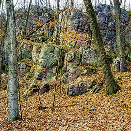 Ricky L Jones - Devils Lake Rock Formation