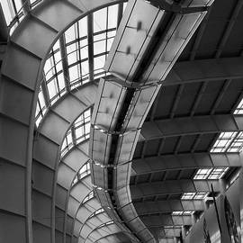 DeVos Architectural Abstract by David T Wilkinson