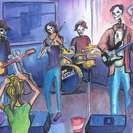 Dewey Paul Band by David Sockrider