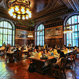 Allen Beatty - Dewitt Wallace Periodical Room - N Y Public Library