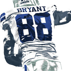 Joe Hamilton - DEX BRYANT DALLAS COWBOYS PIXEL ART 6