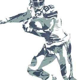 Dez Bryant DALLAS COWBOYS PIXEL ART 10 - Joe Hamilton