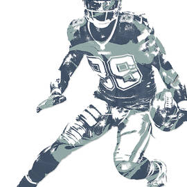 Dez Bryant DALLAS COWBOYS PIXEL ART 11 - Joe Hamilton