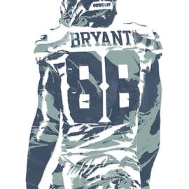 Dez Bryant DALLAS COWBOYS PIXEL ART 12 - Joe Hamilton