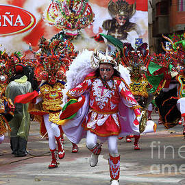 James Brunker - Diablada Dancers at Oruro Carnival Bolivia