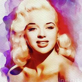 John Springfield - Diana Dors, Vintage Movie Star