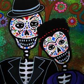 Diego Rivera And Frida Kahlo by Pristine Cartera Turkus