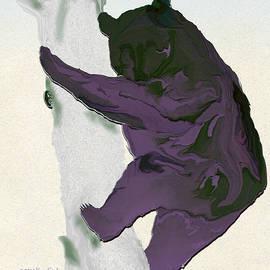 Montana Black Bear by Kae Cheatham