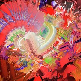Marv Vandehey - Digital Oil Abstract