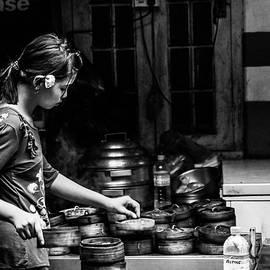 Dim Sum at a Yangon Tea Shop by Joshua Van Lare