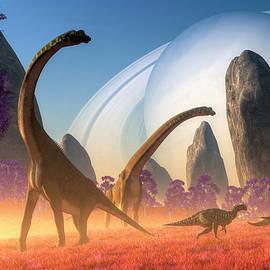 Dinosaur Moon by Daniel Eskridge